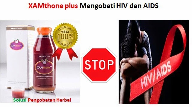 XAMthone plus Menyembuhkan Penyakit HIV dan AIDS