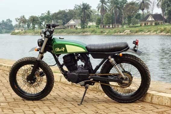 Modifikasi Honda Gl Pro Jap Style Modifikasi Motor