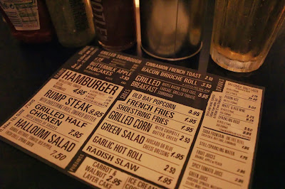 Grillshack menu
