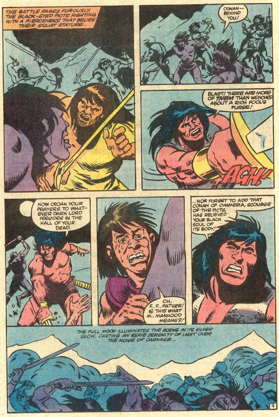 Conan the Barbarian (1970) Issue #145 #157 - English 10