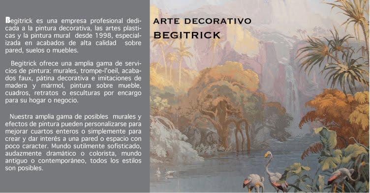 PINTURA DECORATIVA BEGITRICK