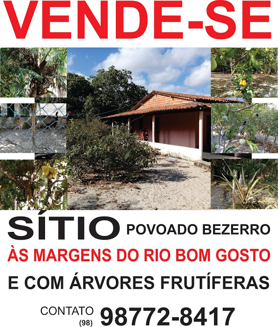 VENDE-SE SÍTIO