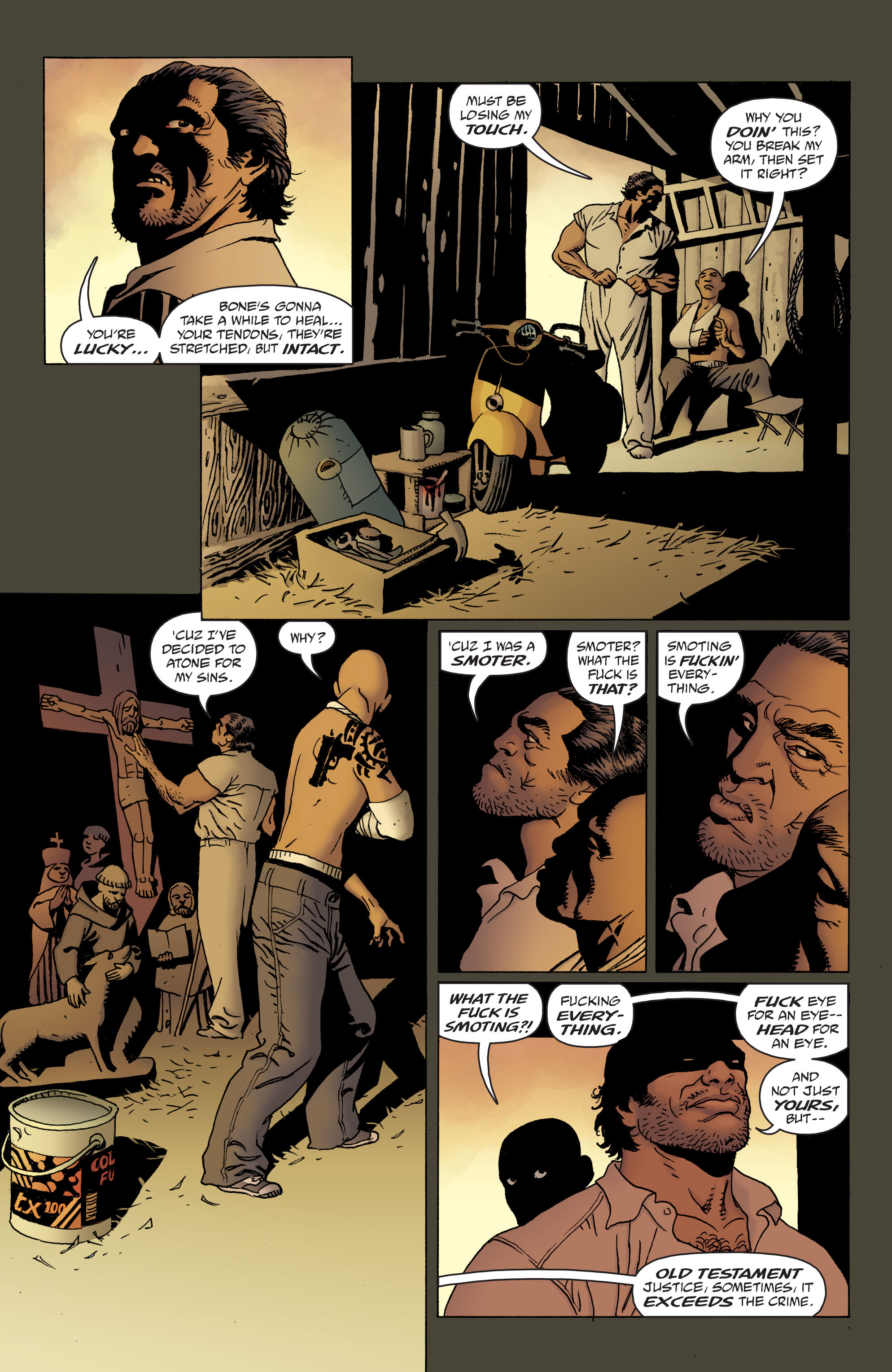 100 Bullets: Brother Lono Full Page 84