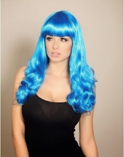 Blue wig katy perry