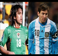 jugadores de ambas selecciones