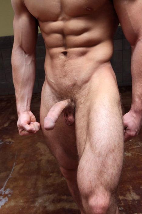 Hombres Desnudos Con El Pene Parado