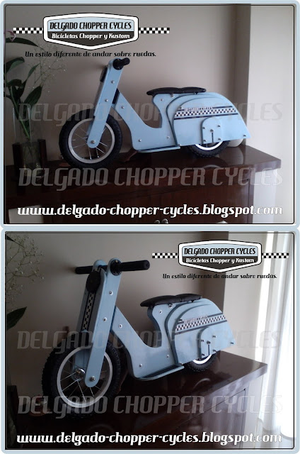 Vespita DCC - Bicicleta de aprendizaje.