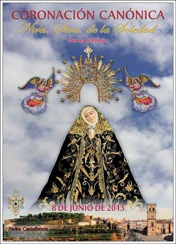 Cartel de la  Coronaciòn Canònica Ntr Sra de la Soledad.