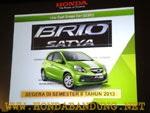 Mobil Honda Brio Satya Bandung