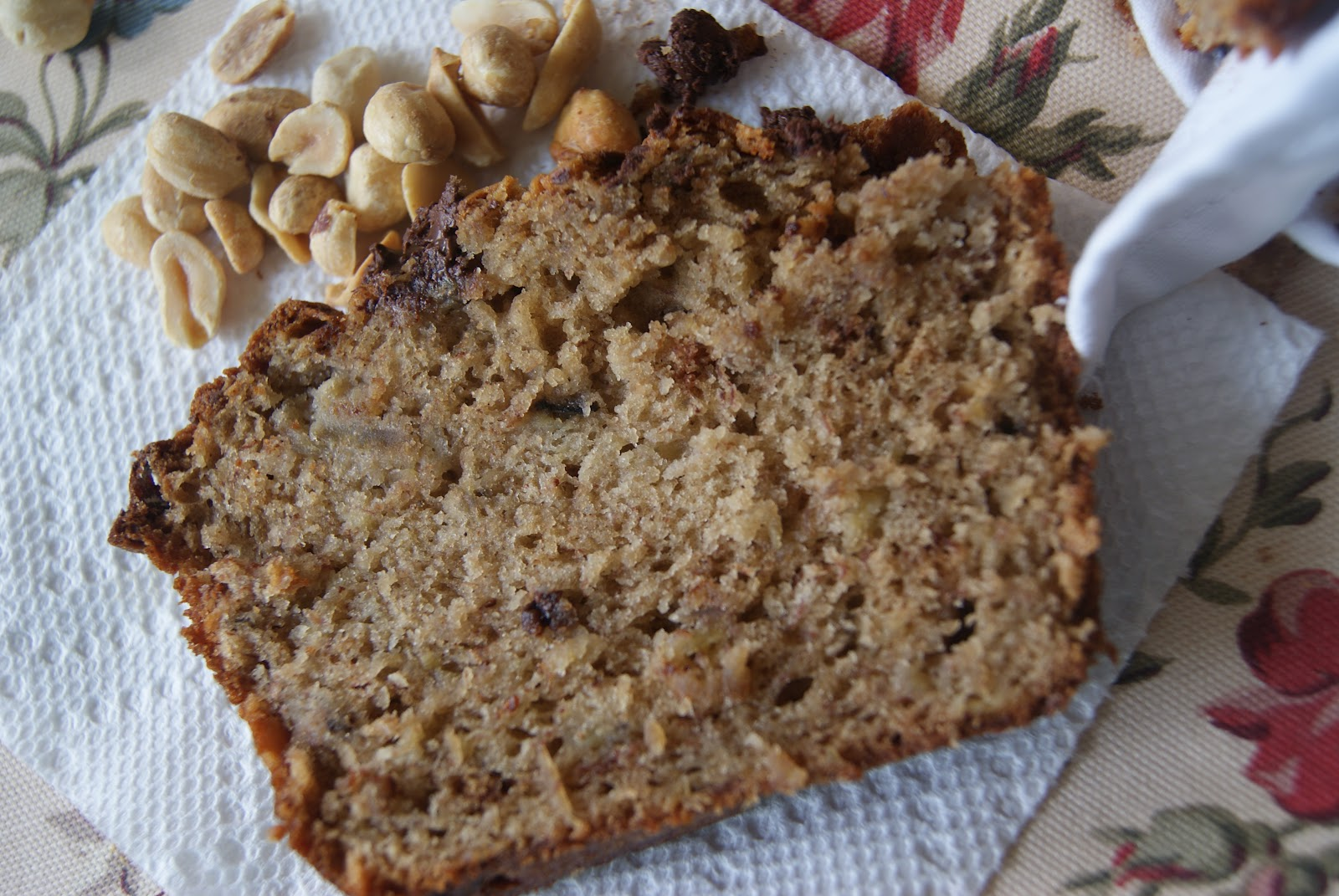 Recipes from a Girl: Peanut Butter Banana Bread