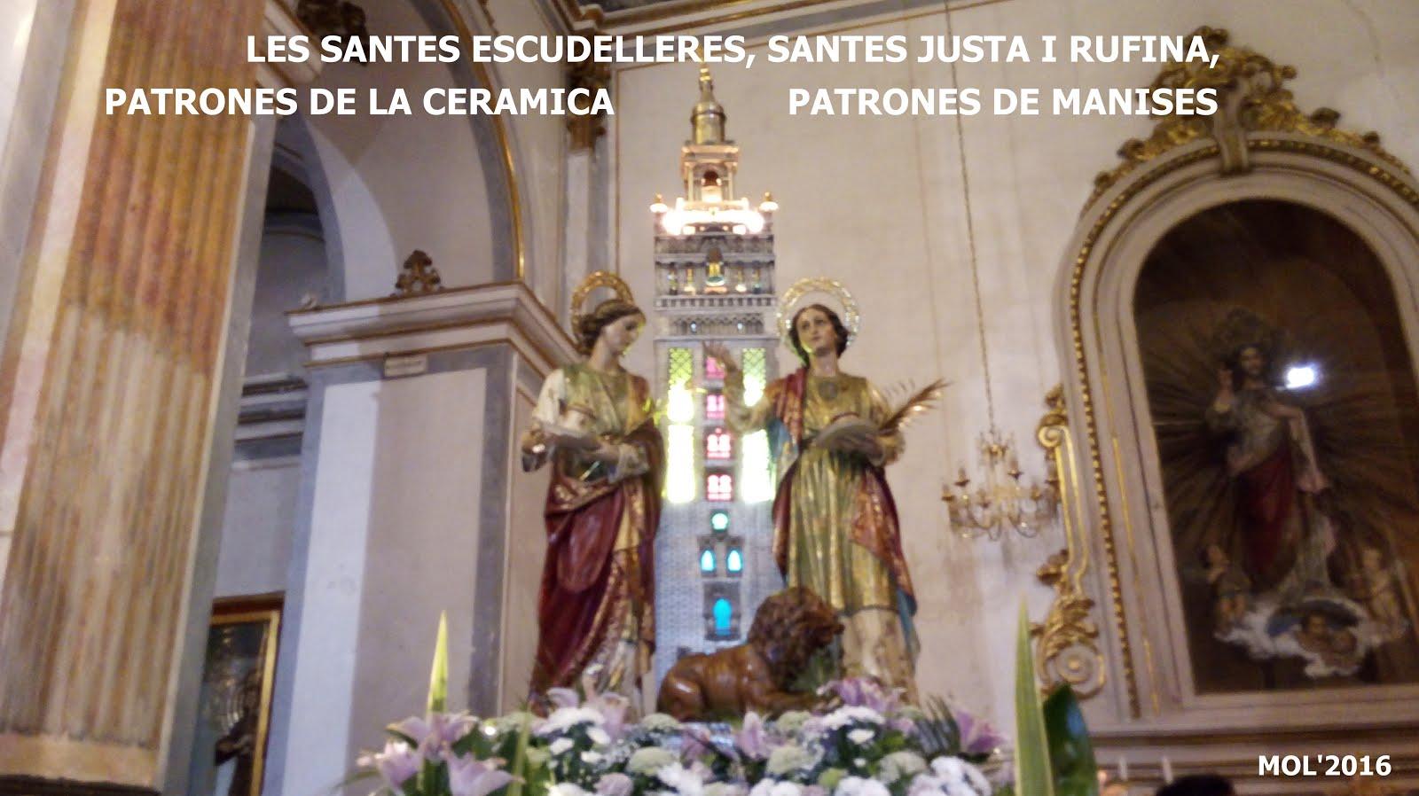 19.07.16 FIESTA A SANTAS JUSTA Y RUFINA, PATRONAS DE LA CERÁMICA Y DE LA CIUDAD DE MANISES