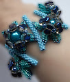 "Armband ""Waterlilies"""