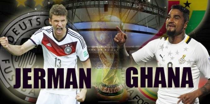 Prediksi Skor Jerman vs Ghana 22 Juni 2014 World Cup Brazil