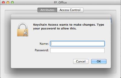 mac os x keychain show password