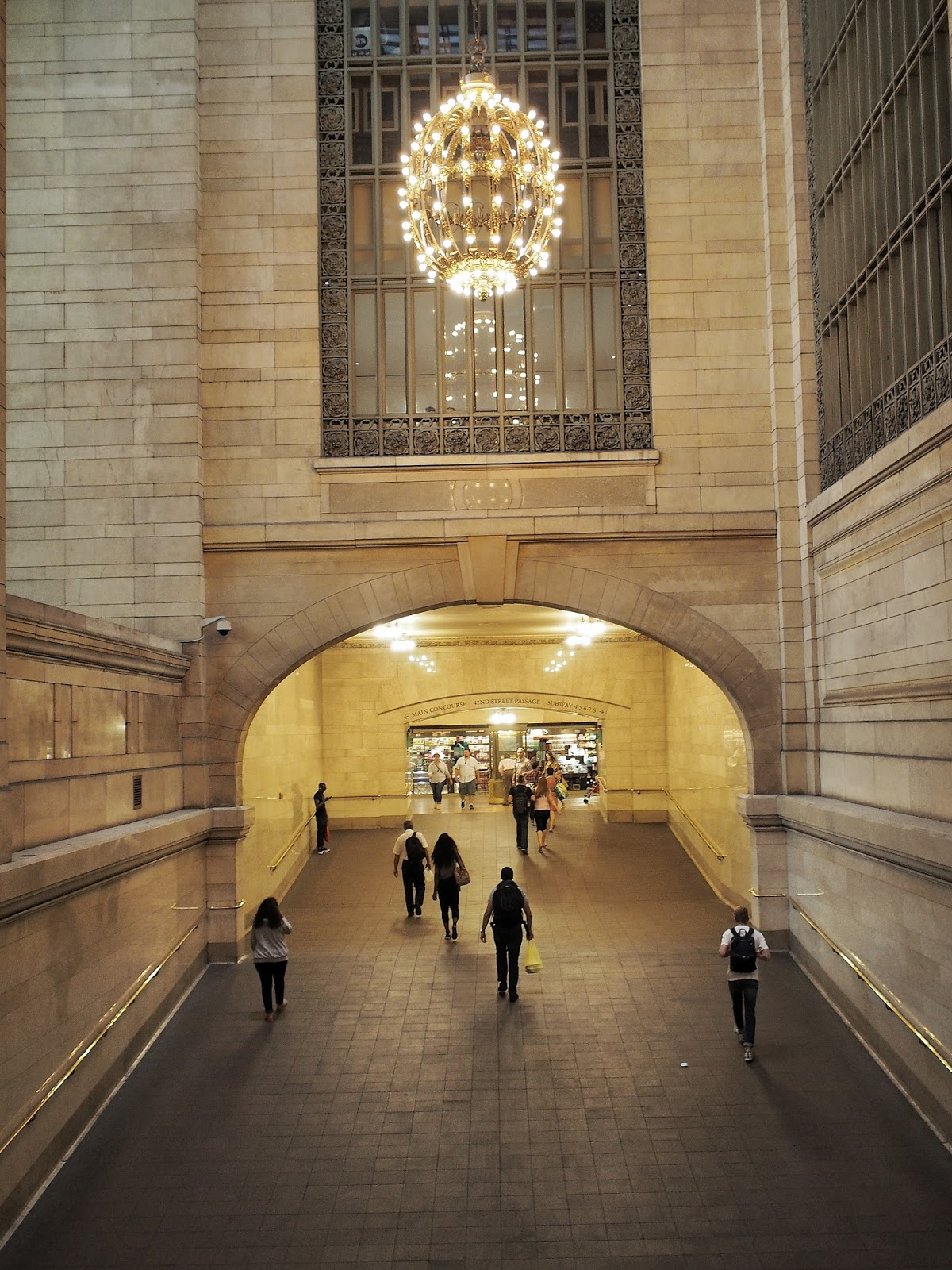 Grand Central Passages, @grandcentral #frombehind #nyc 2014