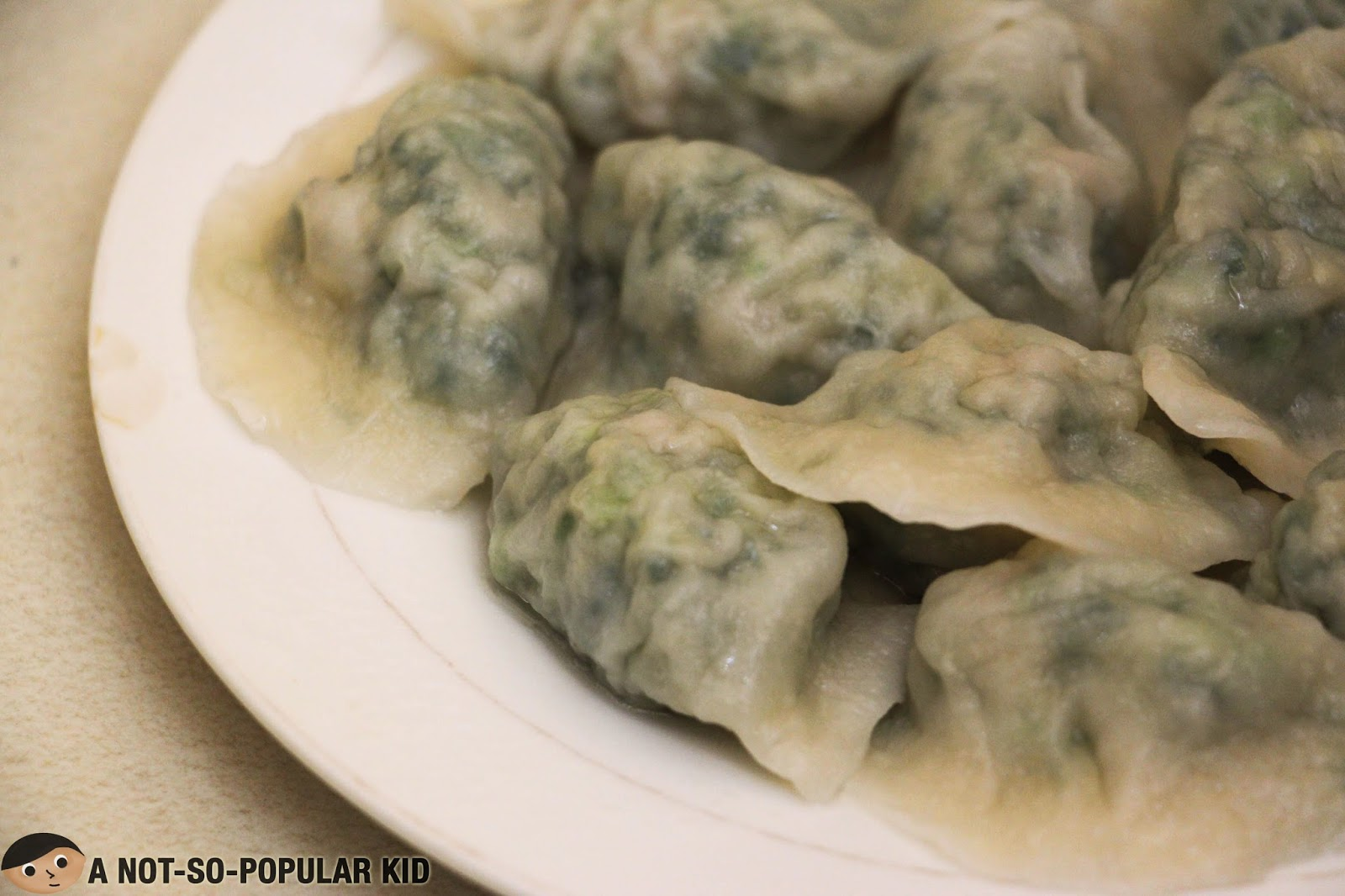 The famous dumplings of Dong Bei Dumpling Store