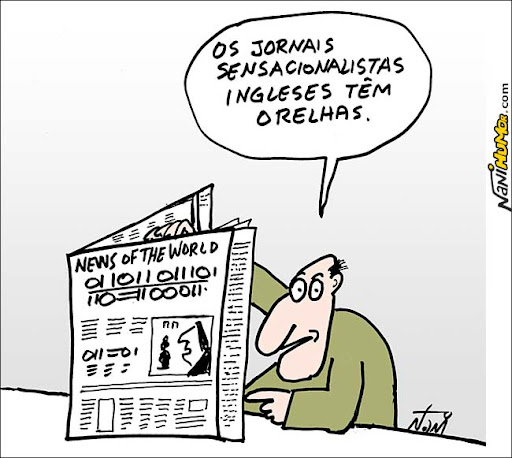 O vale tudo do jornalismo inglês. news of the world