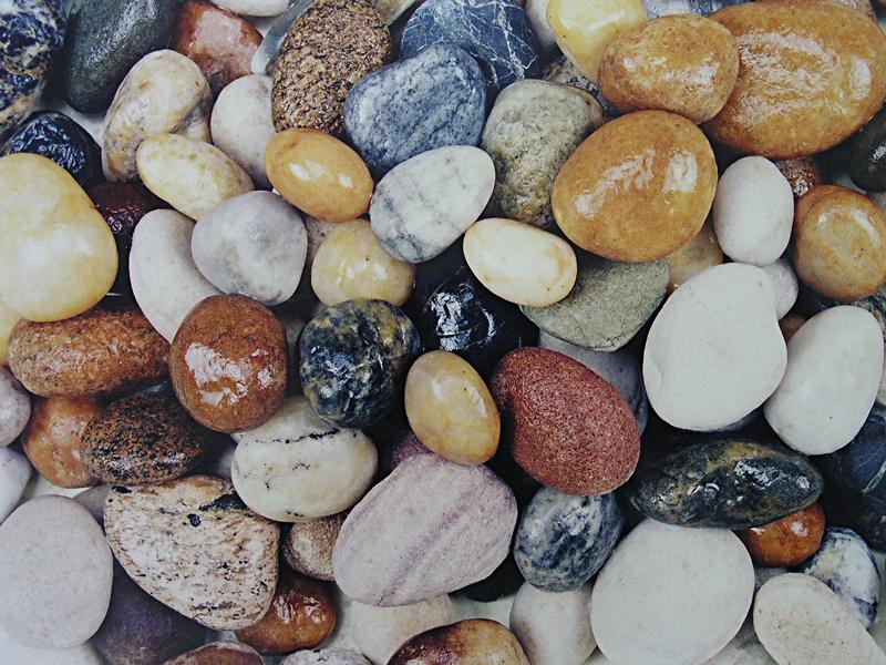 Anda juga bolehcuba geselkan tumit pada batu sungai yang licin yang