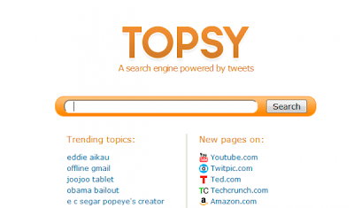Search Engine For Twitter