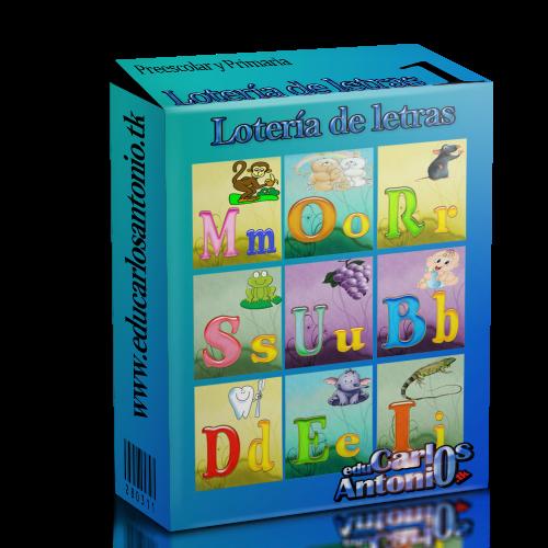 EduCarlosAntonio: Lotería de letras o abecedario