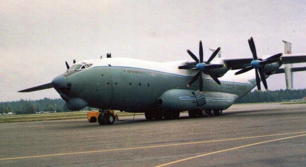 Pesawat Terbesar di Dunia ke-5 Antonov An-22