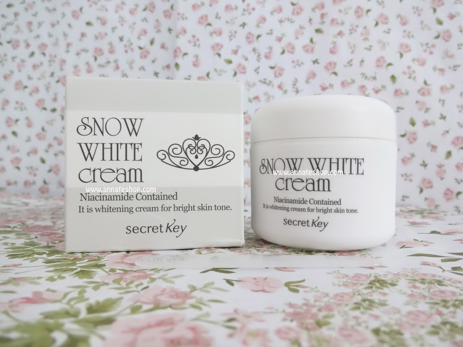 Secret Key Snow White Cream Review Whit