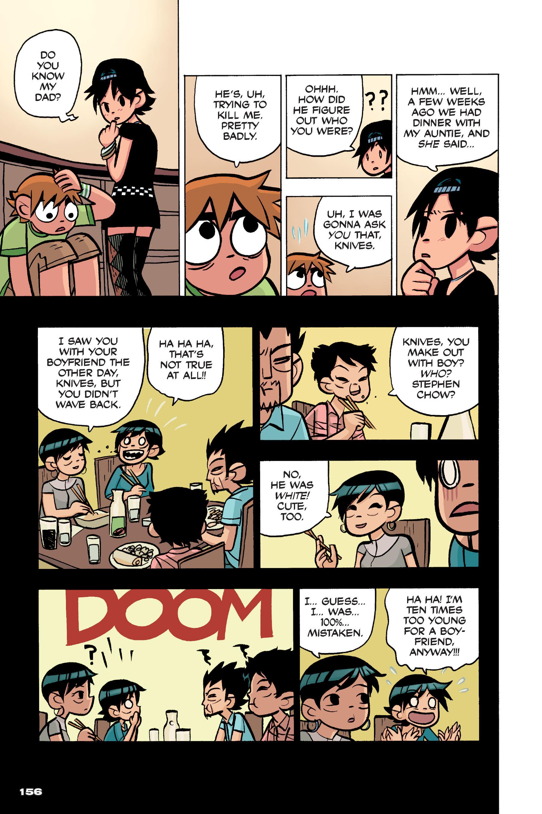 Read online Scott Pilgrim comic -  Issue #4 - 153