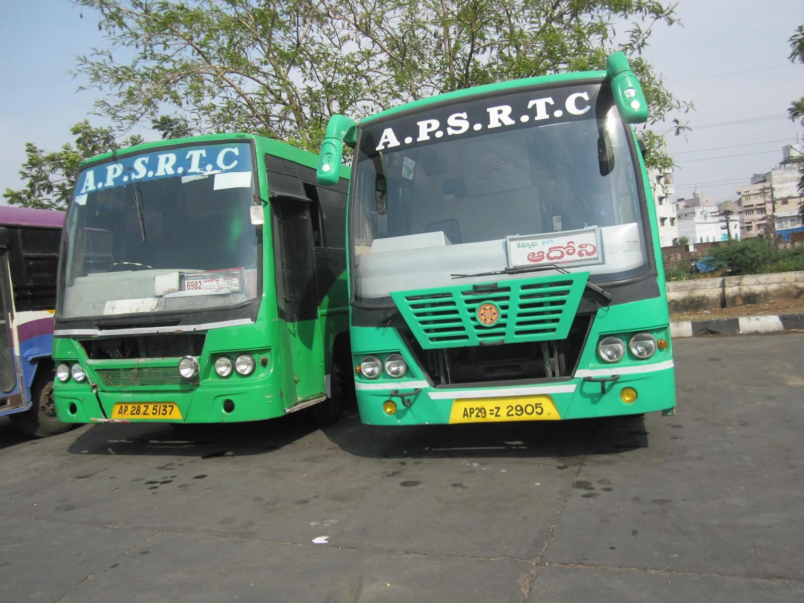A P S R T C Fans Travellogue Hyderabad Nizamabad Nagpur