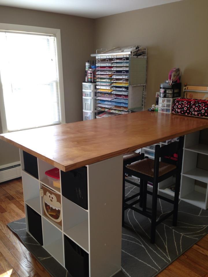 Scrapbook+desk