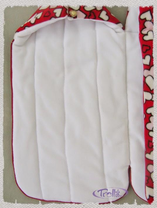 теплый конверт из флиса для новорожденного для зимы
