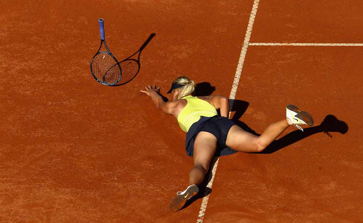 Maria Sharapova Sexy Ass Falls During Tennis Match 01 Sexy Tennis Girls Hot Pictures