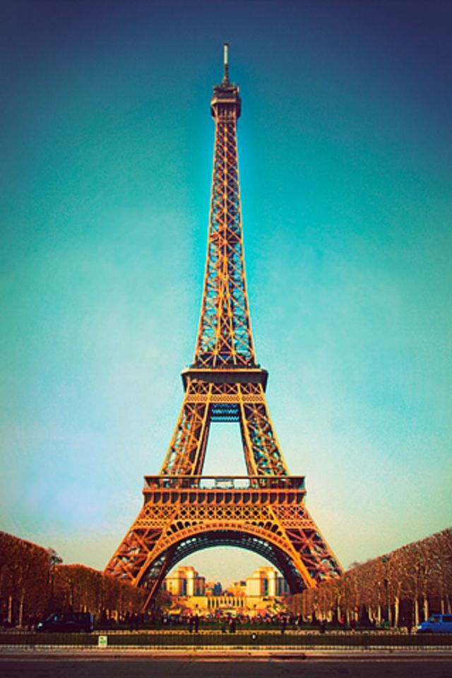 Tall Tower iPhone Wallpaper