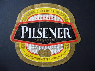 cerveza pielsener de Ecuador