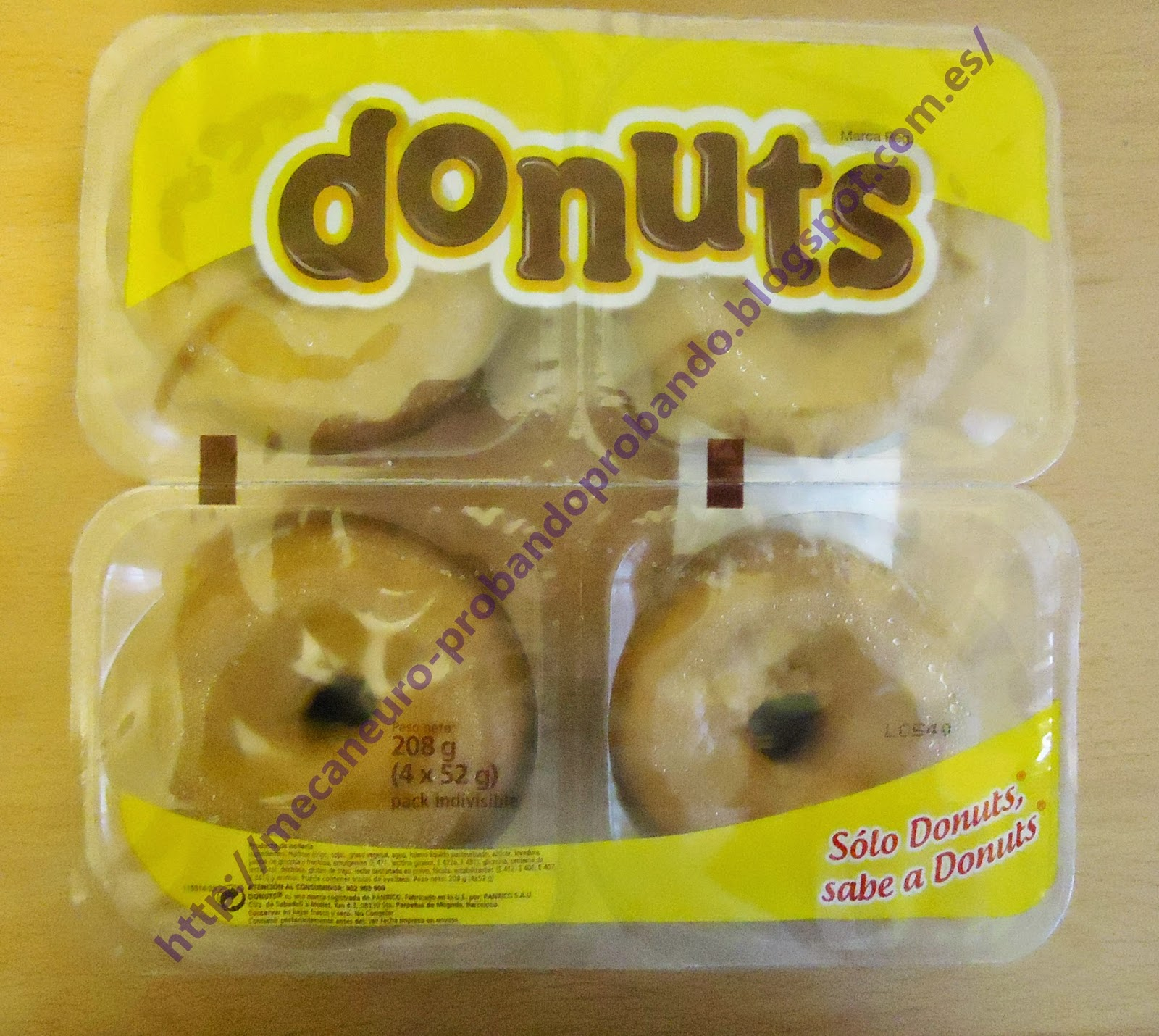 Donuts blanco azúcar