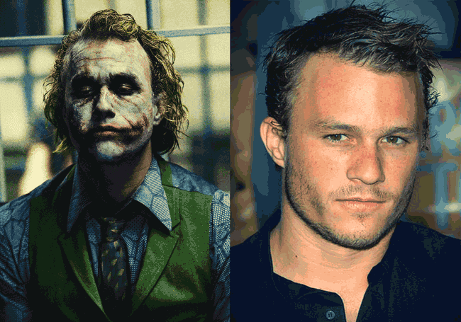 "Karakter ""The Joker"" dan pemerannya, Heath Ledger"