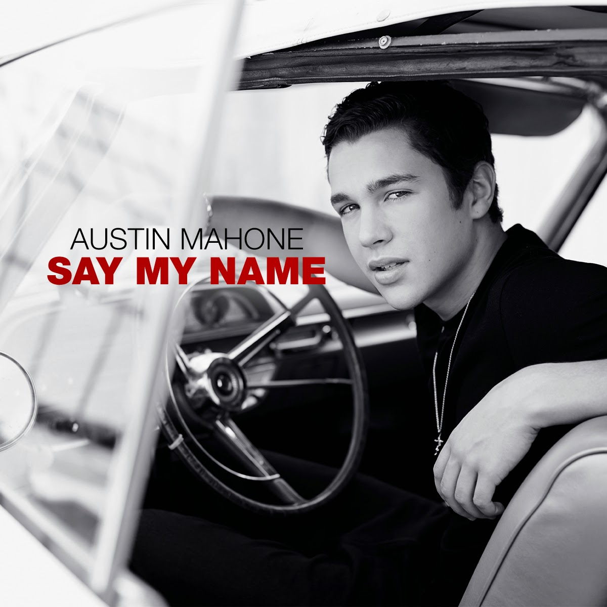 artwork austin mahone say my name m do space. Black Bedroom Furniture Sets. Home Design Ideas