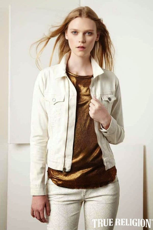 Caitlin Holleran - Cast Images - True Religion Holiday 2014 Lookbook