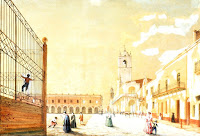 Cabildo y Policía (por C. E. Pellegrini, 1831)
