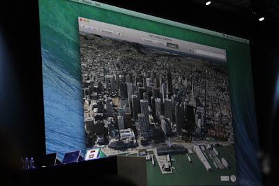 Mac OS X Mavericks Maps