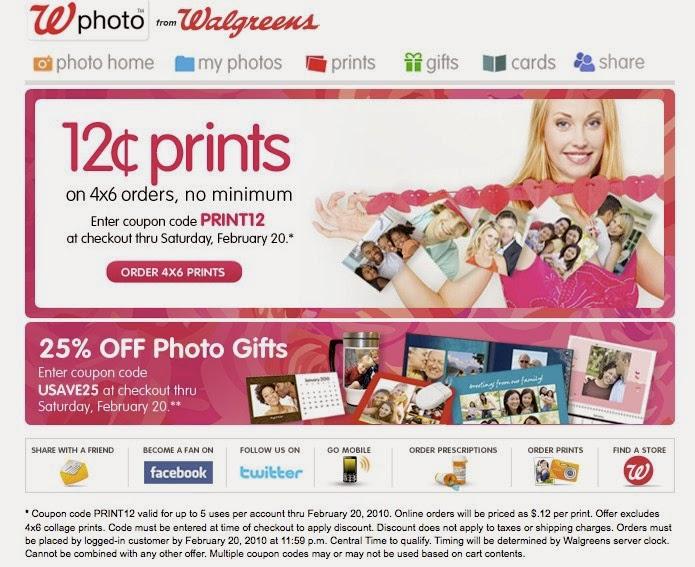 Photo print coupons walgreens
