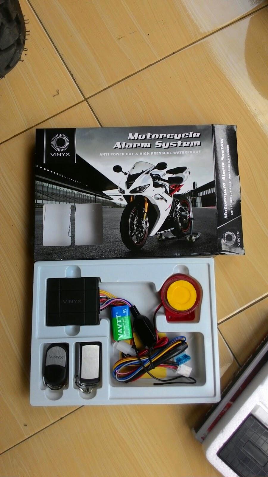 Alarm Motor Vinyx Daftar Harga Terbaru Dan Terlengkap Indonesia X Case Remote Lengkap Panduan Pemasangan Berbahasa Merek