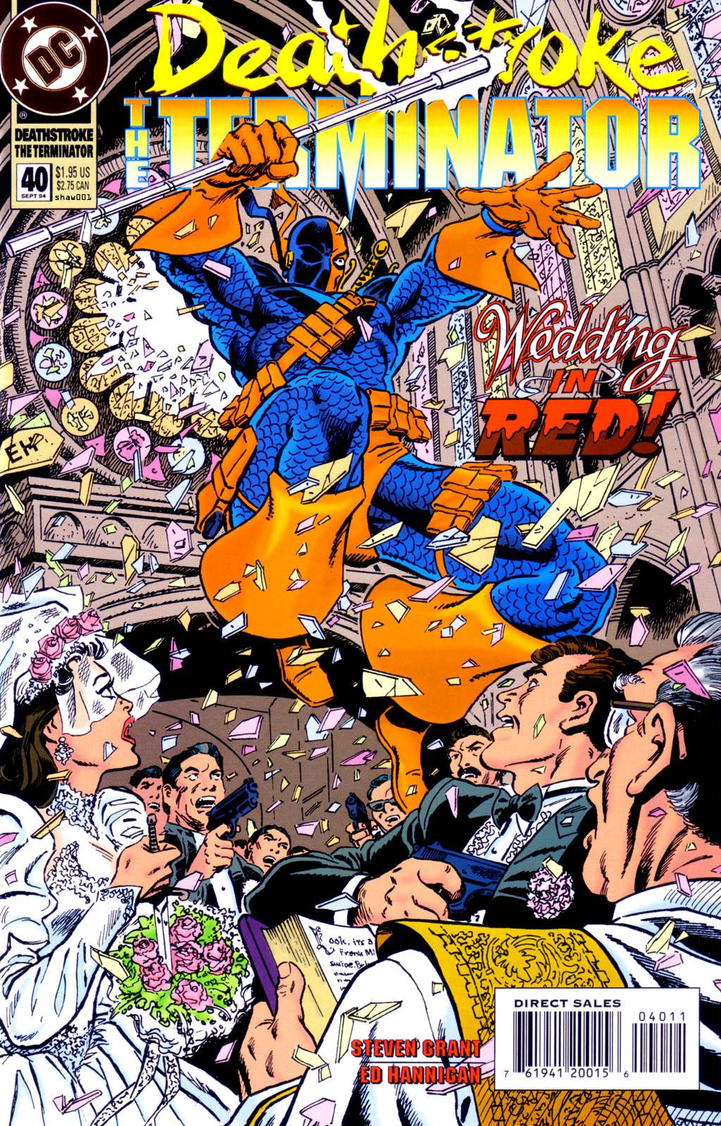 Deathstroke (1991) Issue #40 #45 - English 1