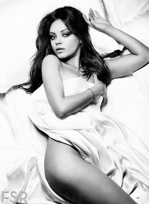 Mila Kunis Topless for Esquire magazine November 2012 - Beautiful Female Photos