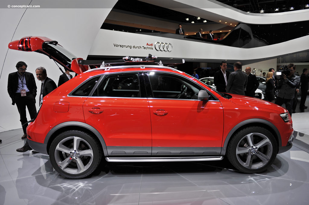 car barn sport audi q3 concept vail 2012. Black Bedroom Furniture Sets. Home Design Ideas