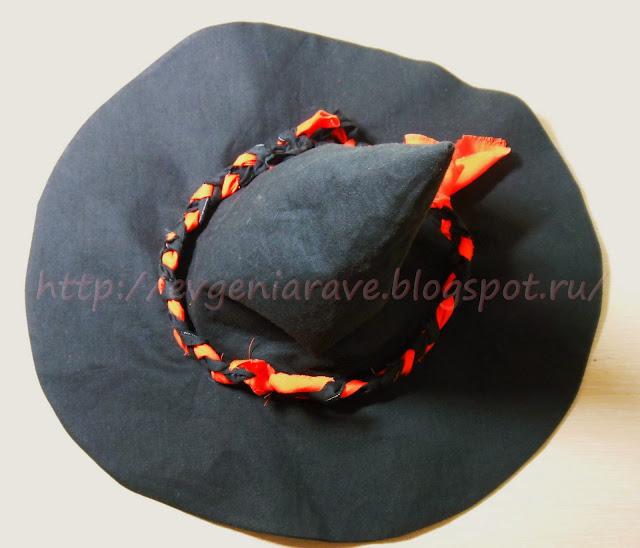 мастер-класс, шляпа для карнавала, как сшить шляпу на карнавал