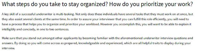 Underwriter Basic Question 2