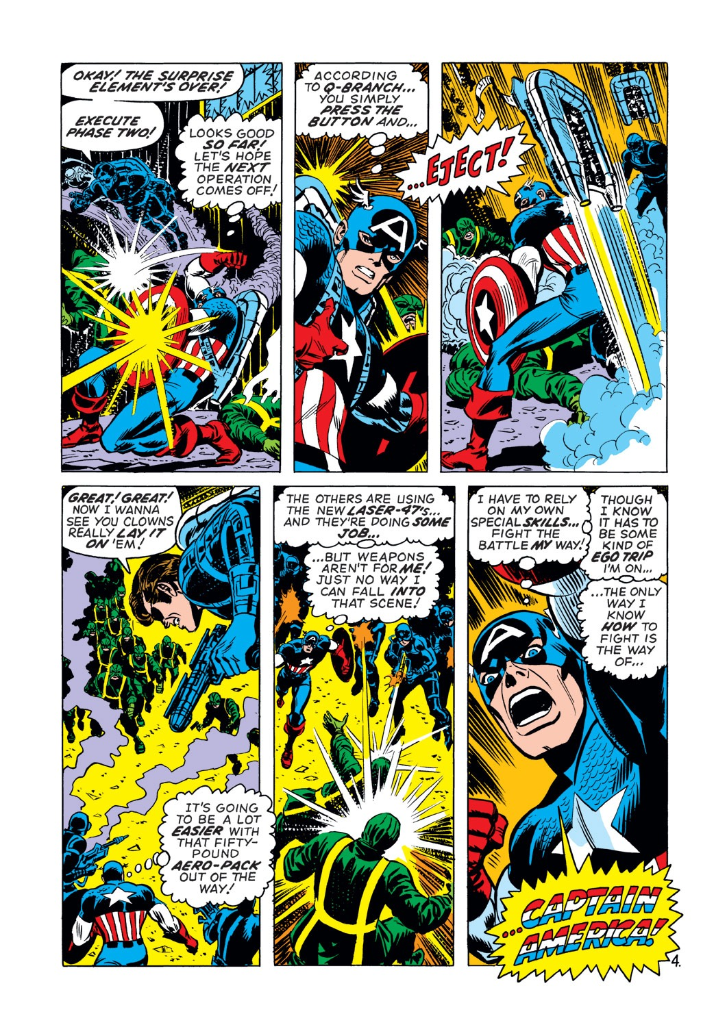 Captain America (1968) Issue #144 #58 - English 5