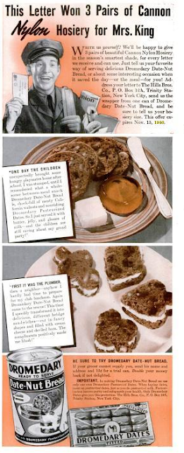 Dying for Chocolate: Retro Date Nut Bread with Chocolate Chunks Recipe ...