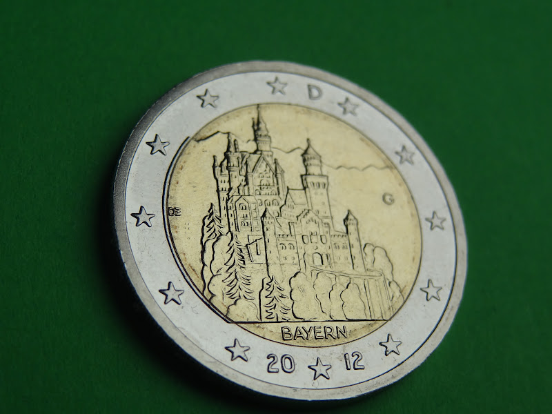 2 Euro Münze Bayern 2012 D Lerepairedugame