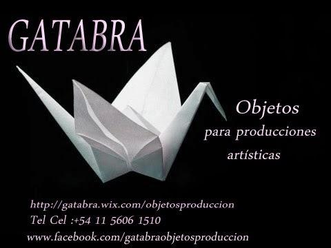 GATABRA  OBJETOS  PARA PRODUCCIONES ARTÍSTICAS